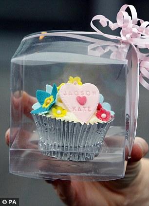 Duchess of Cambridge Valentine Cupcake