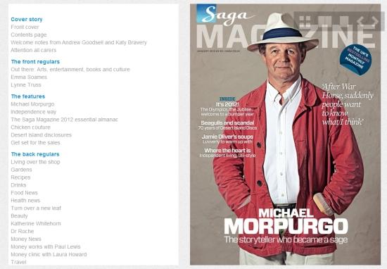 sage magazine cover