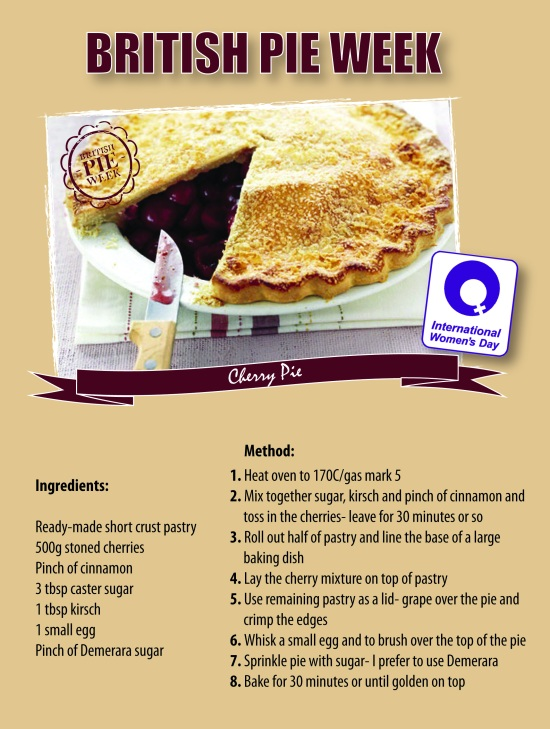 British Pie Week Cherry Pie