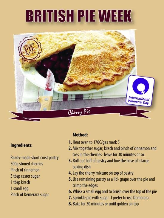 British Pie Week Cherry Pie