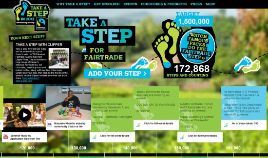 Fairtrade Take a Step