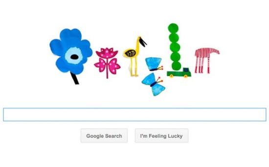 Spring Google Doodle