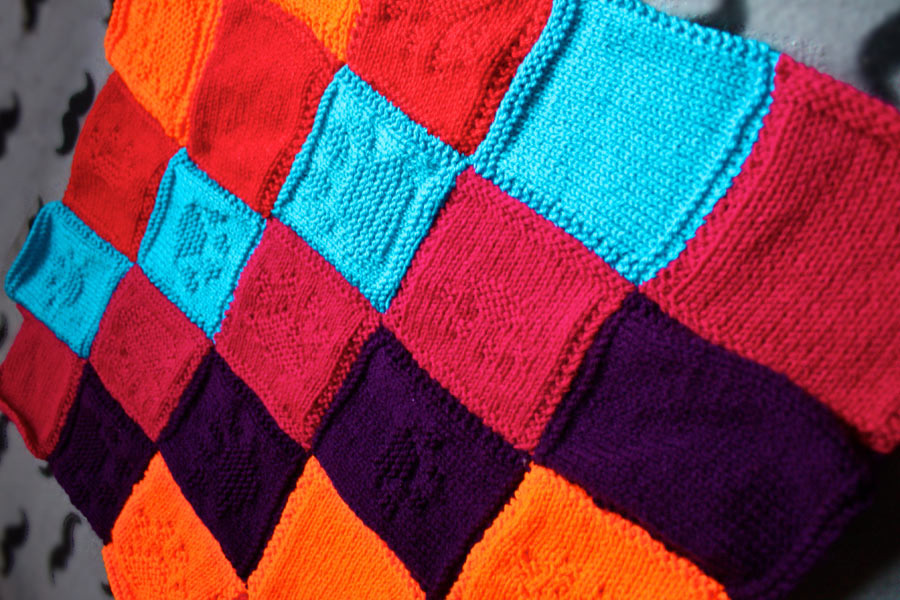 Battersea Dog Blanket Knitting Pattern : Patchwork blankets for Battersea Dogs and Cats Home Bath-Knight Blog