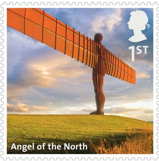 Angel of the North Stamp