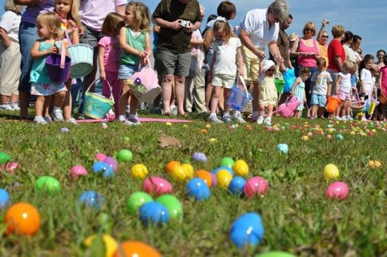 Easter Egg Hunt for grandchildren