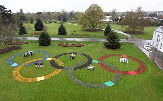 Kew Gardens Olympics Rings