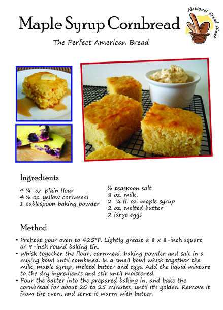 Maple Syrup Cornbread