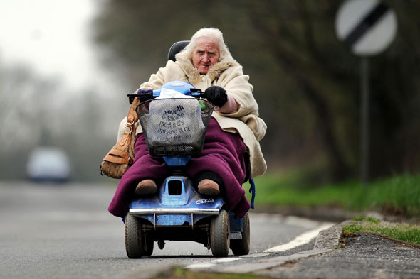 Elderly people bath knight blog for Motorized scooters for seniors