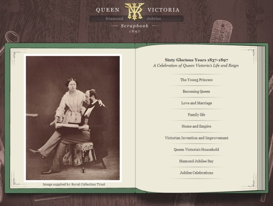 Queen Victoria Diamond Jubilee Scrapbook