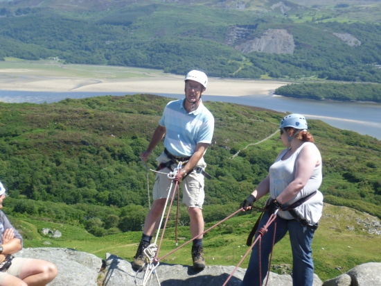 rotary club abseiling