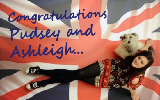 congratulations pudsey and ashleigh britains got talent winners.