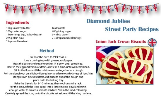 Diamond Jubilee Union Jack Biscuits