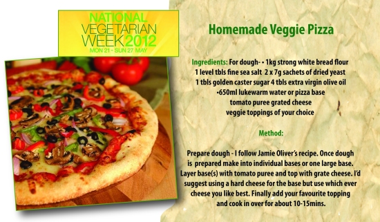 NVW veggie pizza
