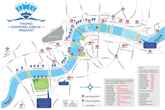 River Pageant Route