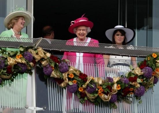 The Queen's Diamond Jubilee the queen epsom derby 2011