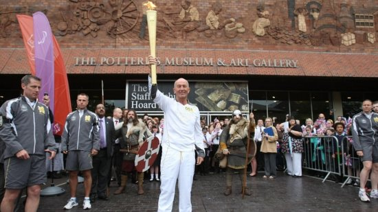 Tony Pulis Olympic Torch