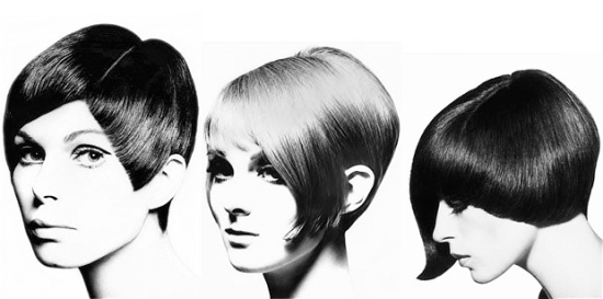 Vidal Sassoon geometric hair styles