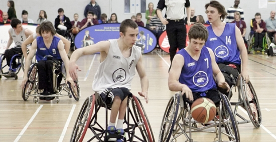 wheelchair basketball The School Games
