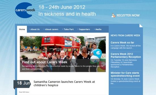 Carers Week 2012