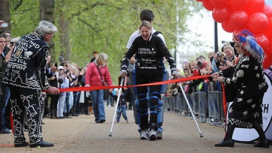 claire lomas London Marathon