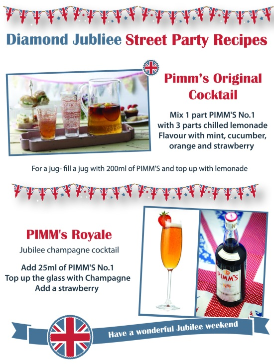 Diamond Jubilee Pimms