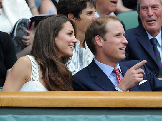 Duke and Duchess of Cambridge wimbledon 2012