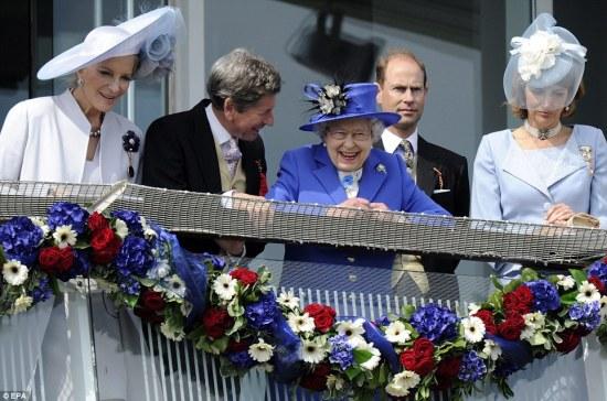 Epsom Derby Dimaond Jubilee 2012