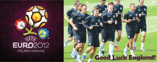 Good Luck England euro 2012