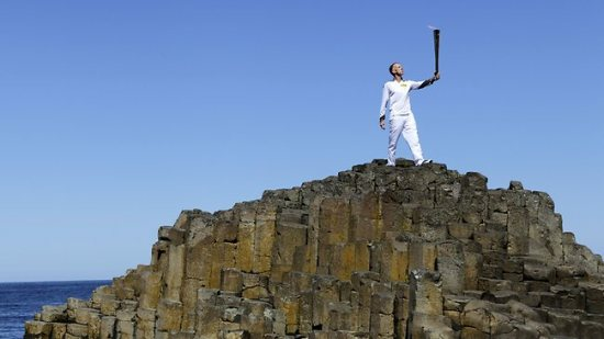 olympic torch giants causeway