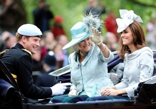 Prince Harry, Camilla and Kate