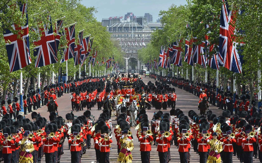 The Queen's Birthday Parade, Trooping the Colour | Bath ...