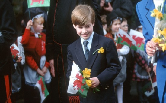 Young Prince William on first engagement
